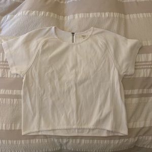 Structured cropped t-shirt